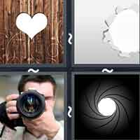 4 Pics 1 Word level 21-15 8 Letters