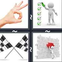 4 Pics 1 Word level 22-7 8 Letters