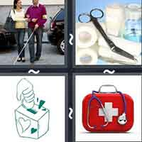 4 Pics 1 Word level 14-6 3 Letters