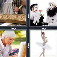 4 Pics 1 Word level 14-7 3 Letters