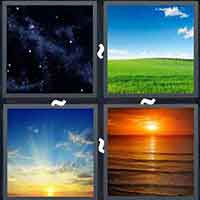 4 Pics 1 Word level 14-8 3 Letters
