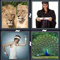 4 Pics 1 Word level 3000