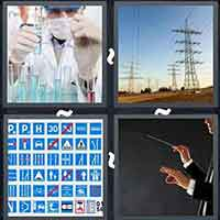 4 Pics 1 Word level 3104