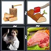 4 Pics 1 Word level 3118