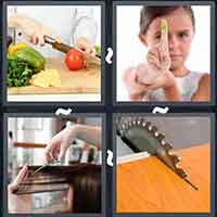 4 Pics 1 Word level 14-12 3 Letters