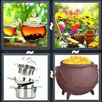 4 Pics 1 Word level 14-14 3 Letters