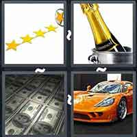 4 Pics 1 Word level 3197