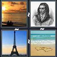 4 Pics 1 Word level 24-13 8 Letters