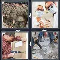 4 Pics 1 Word level 3205