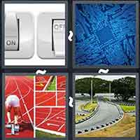 4 Pics 1 Word level 3206