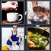 4 Pics 1 Word level 3208