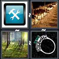 4 Pics 1 Word level 3218