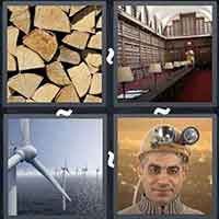 4 Pics 1 Word level 25-5 8 Letters