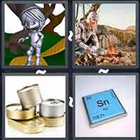 4 Pics 1 Word level 15-2 3 Letters