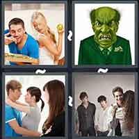 4 Pics 1 Word level 3287