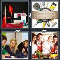 4 Pics 1 Word level 26-3 8 Letters