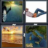 4 Pics 1 Word level 3417