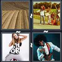 4 Pics 1 Word level 3418