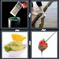 4 Pics 1 Word level 15-11 3 Letters