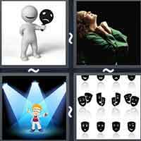 4 Pics 1 Word level 16-1 3 Letters