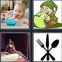 4 Pics 1 Word level 16-4 3 Letters