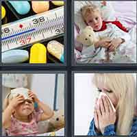 4 Pics 1 Word level 16-6 3 Letters