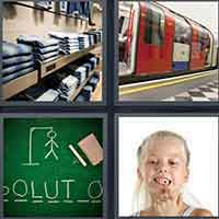 4 Pics 1 Word level 3499