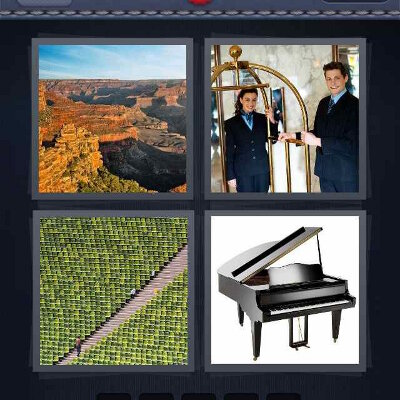 Level 208 - 4 Pics 1 Word Answers