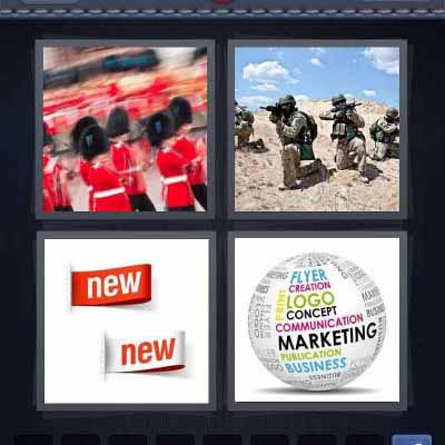 4 pic 1 word 8 letters soldiers level 400 4 pics 1 word answers 19010
